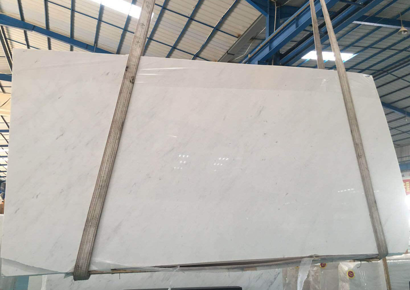 Aristone White Marble Slabs