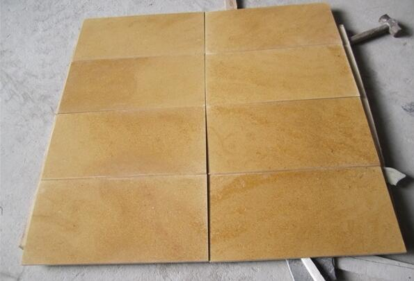 Armenia Gold Limestone Tiles Yellow Limestone tiles