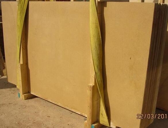 Armenia Gold Limestone slabs Yellow Limestone slabs