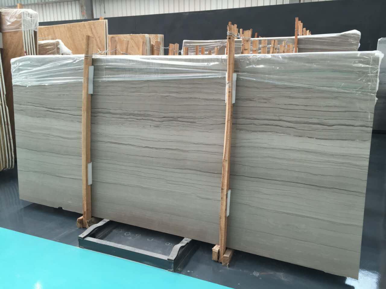 Athens wood marble slab