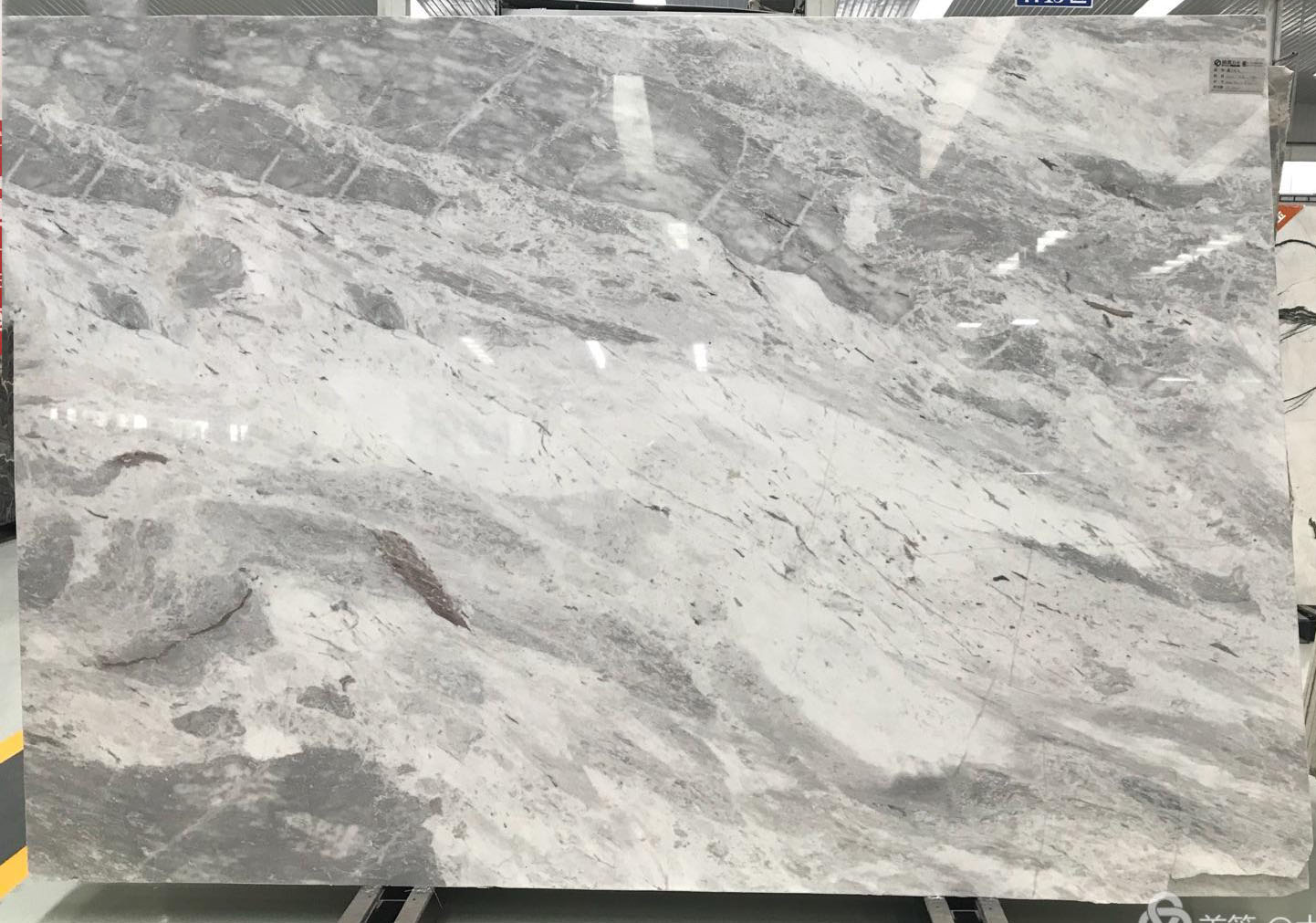 Atlantic Grey Marble Chinese Polished Slabs