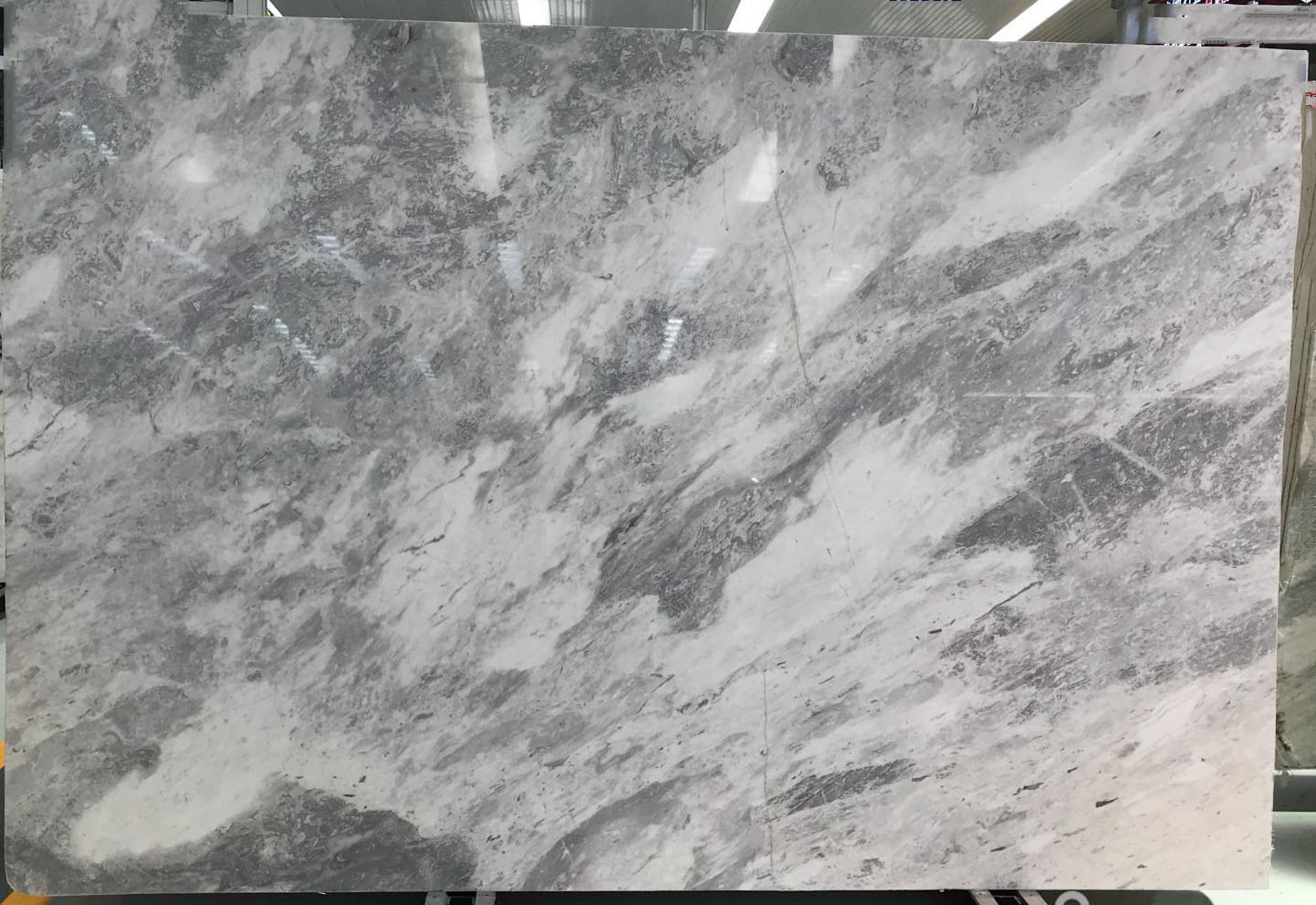 Beautiful Atlantic Grey Marble Slabs