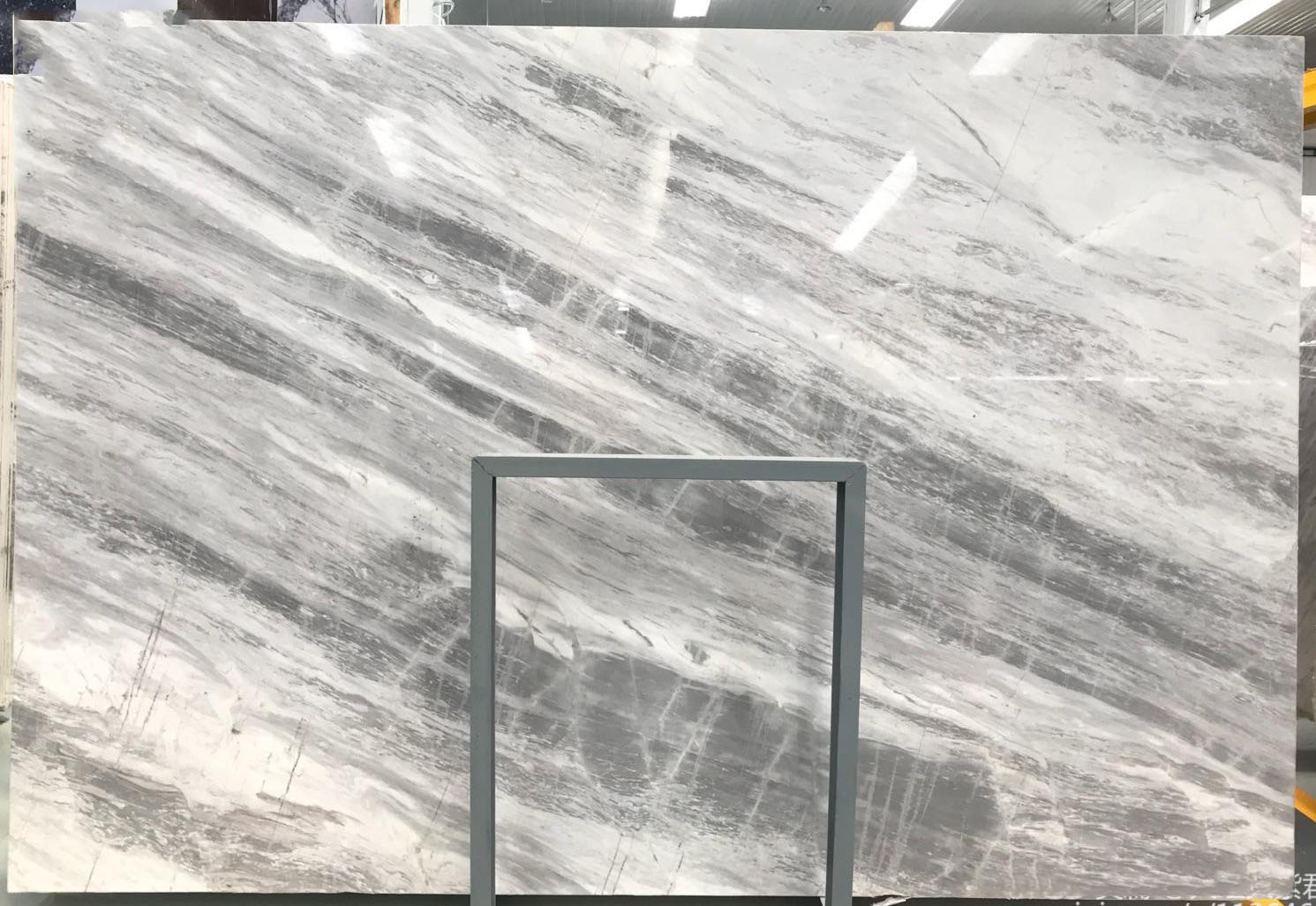 Grey Marble Polished Slabs Atlantic Grey Marble