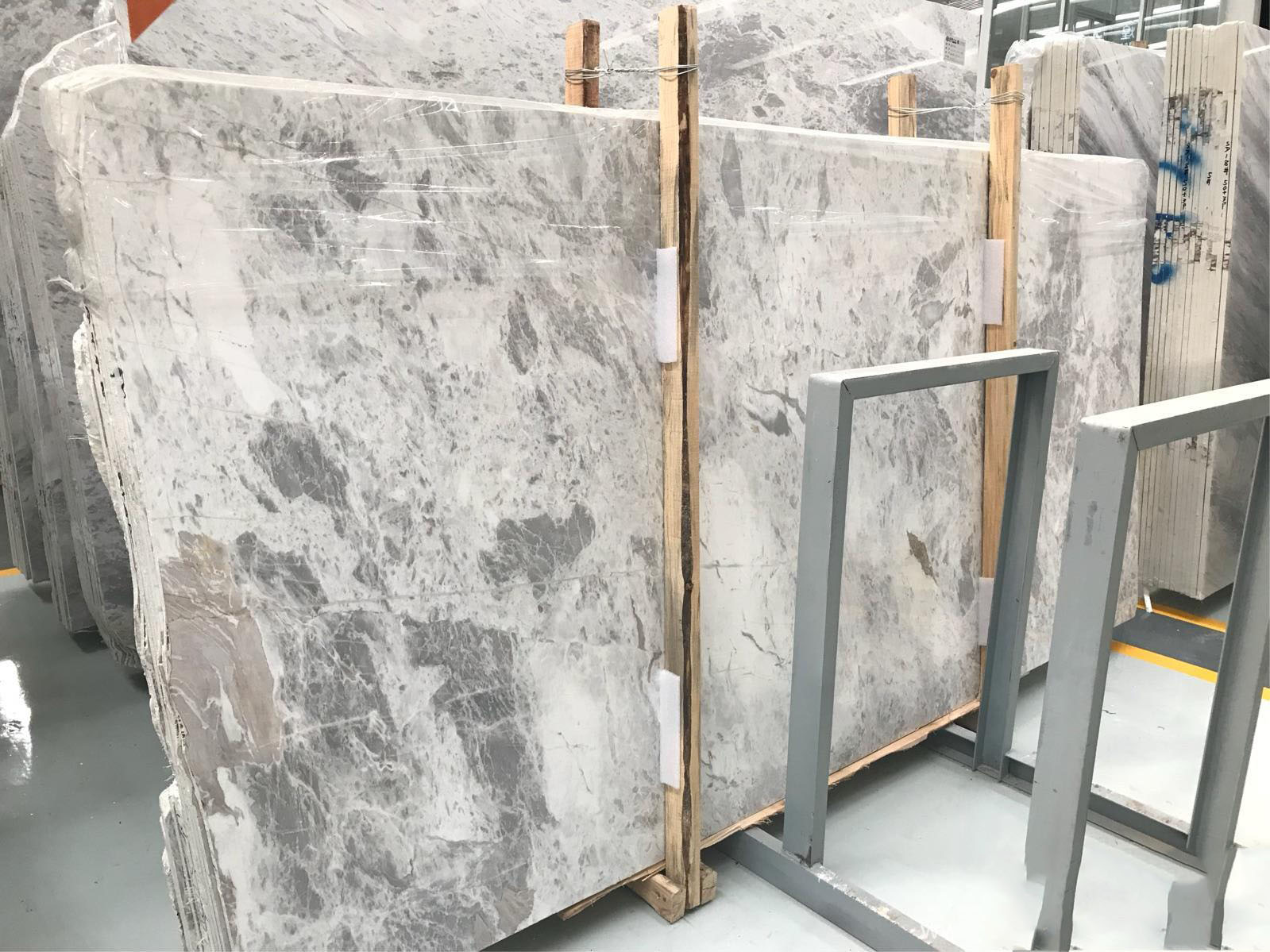Polished Atlantic Grey Marble