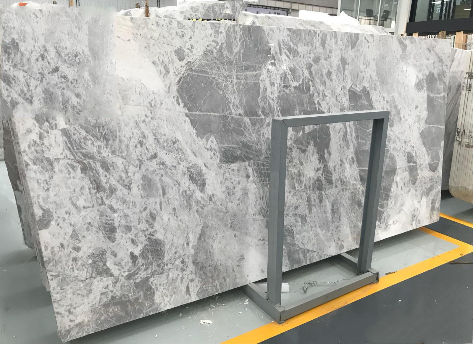 Atlantic Grey Marble Stone Polished Slabs