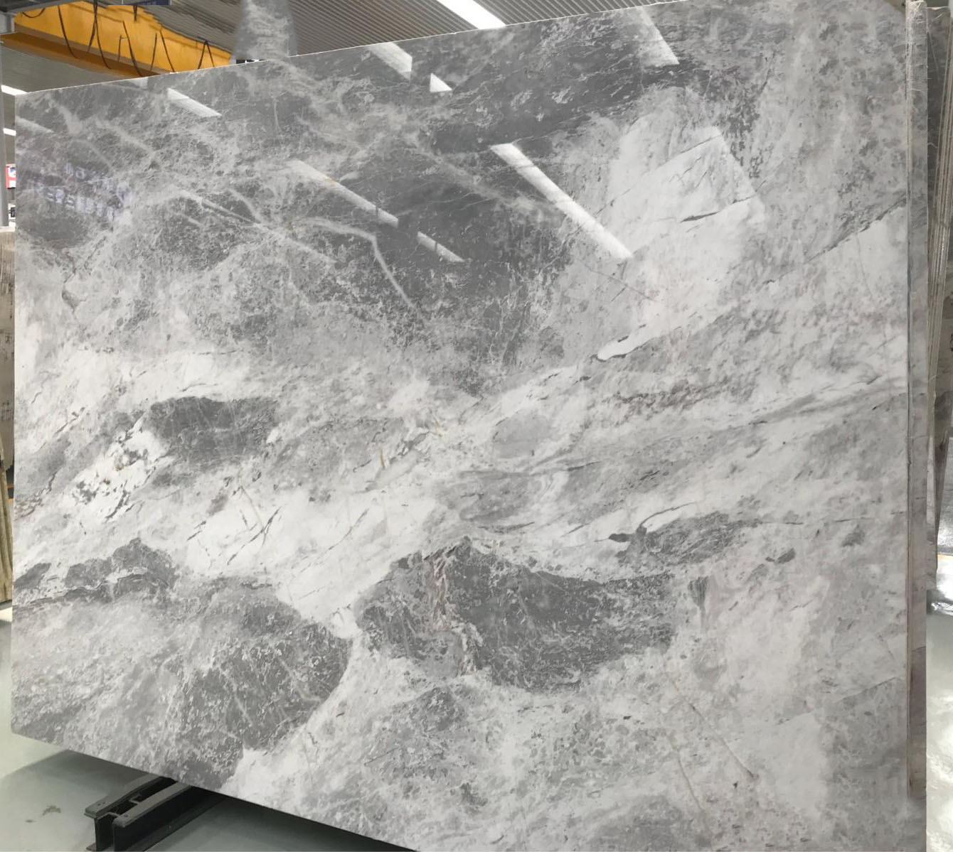 Atlantic Grey Marble Slabs Polished