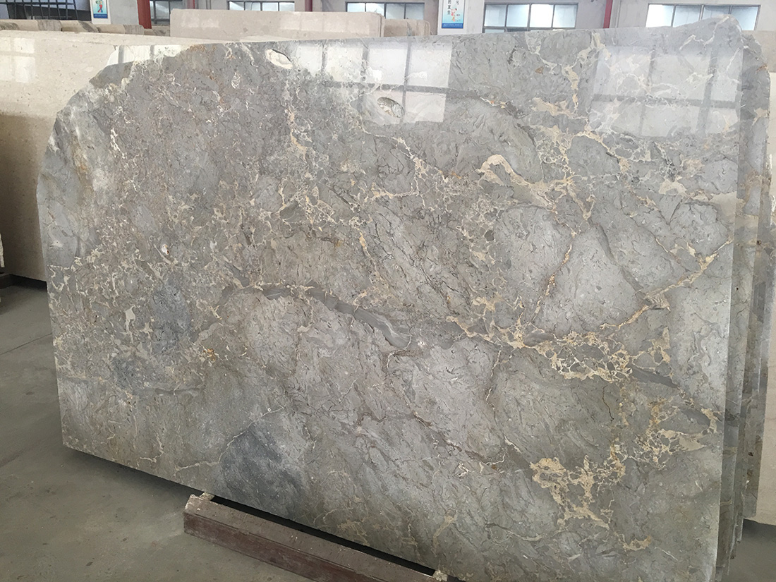Atlantic Grey Marble Polished Slabs