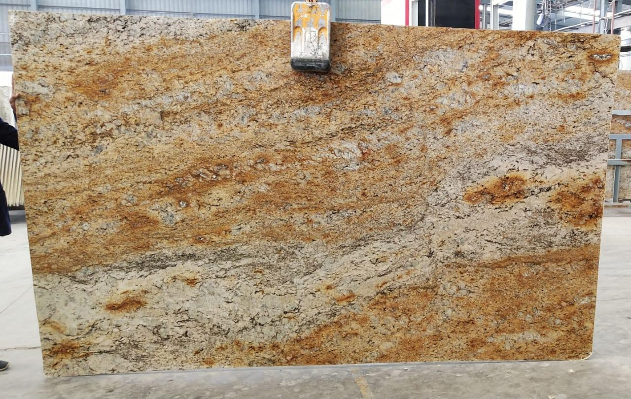 Aurm Gold Granite Slab