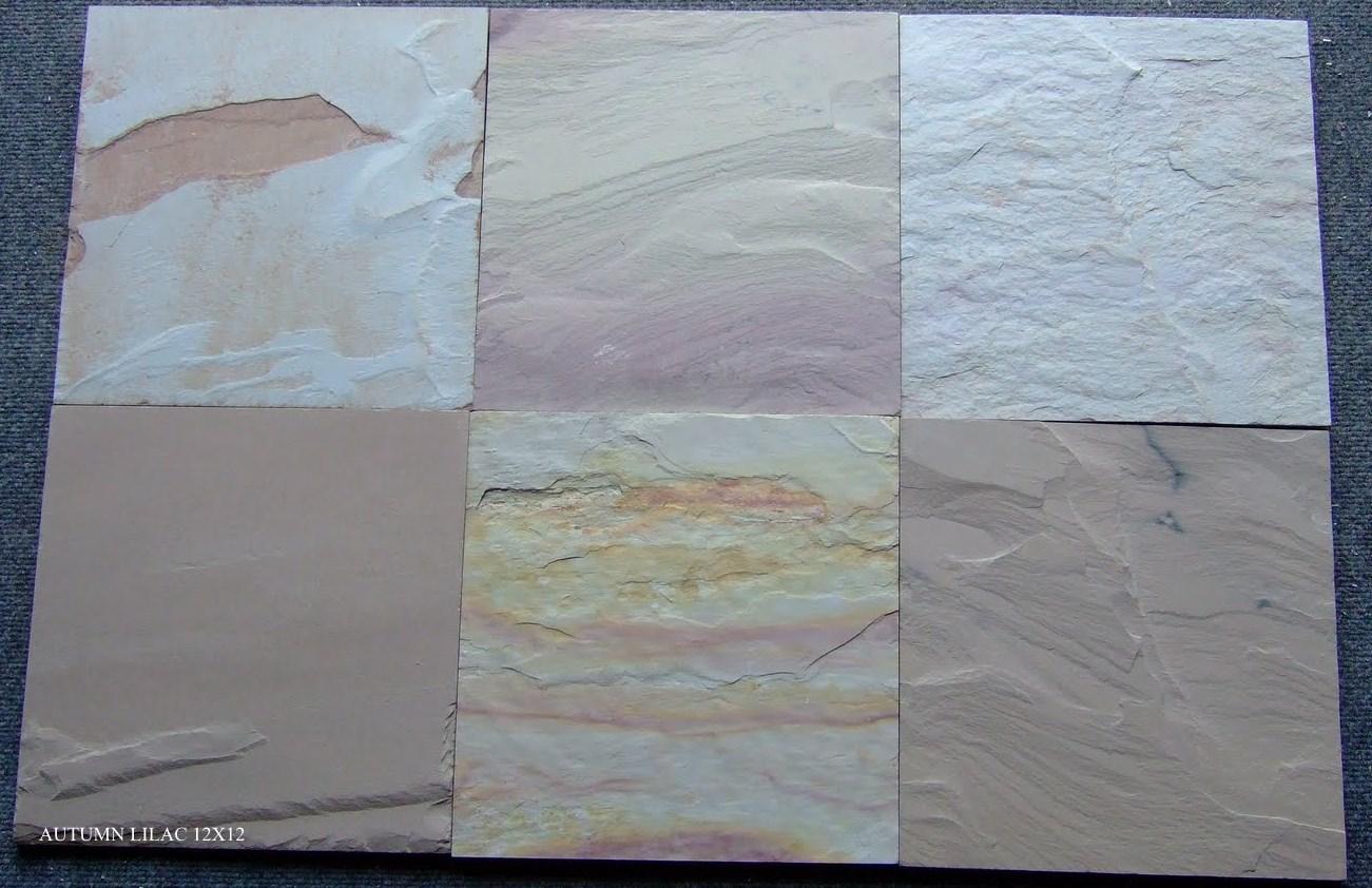Autumn Lilac Slate Tiles
