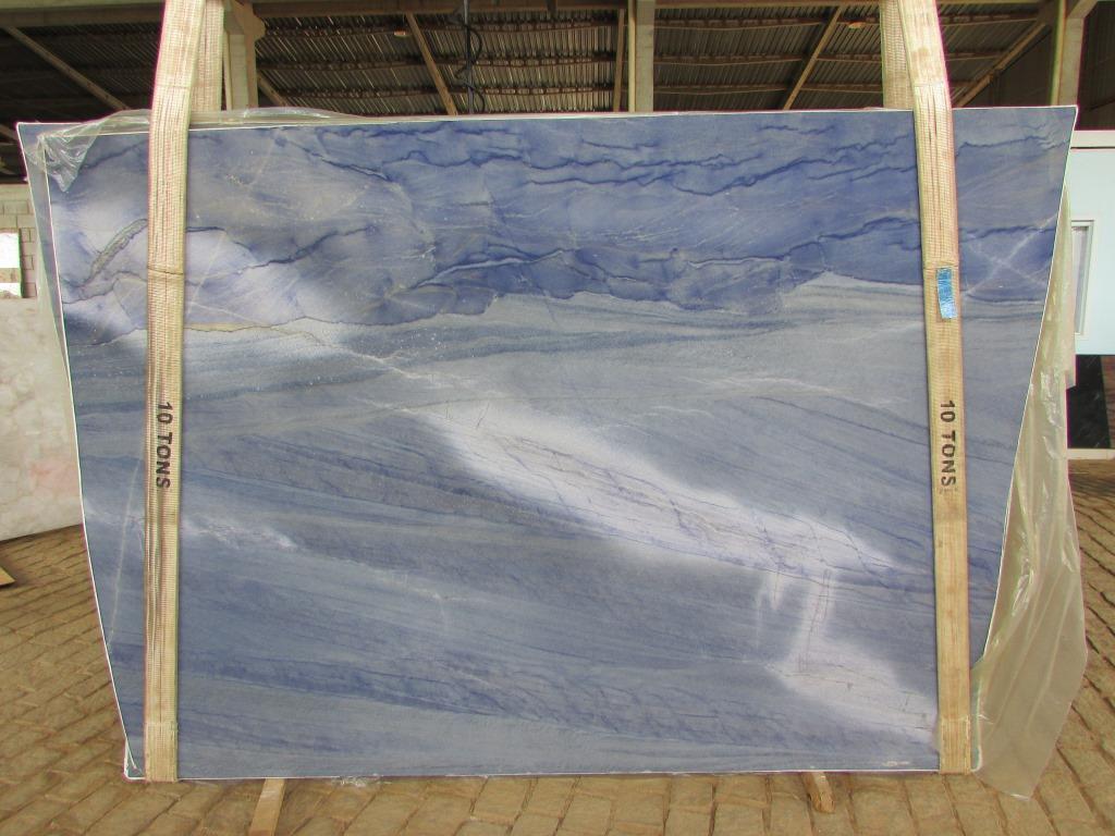 Azul Macaubas Marble slabs