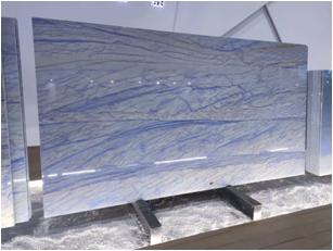 Azul Macaubas Quartzite Slabs for Interior Design