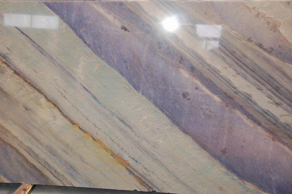Azul imperial marble slab