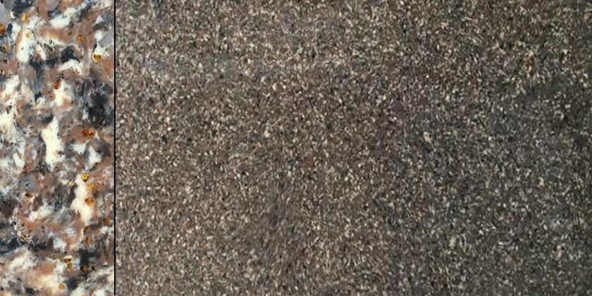 quartz stone brown