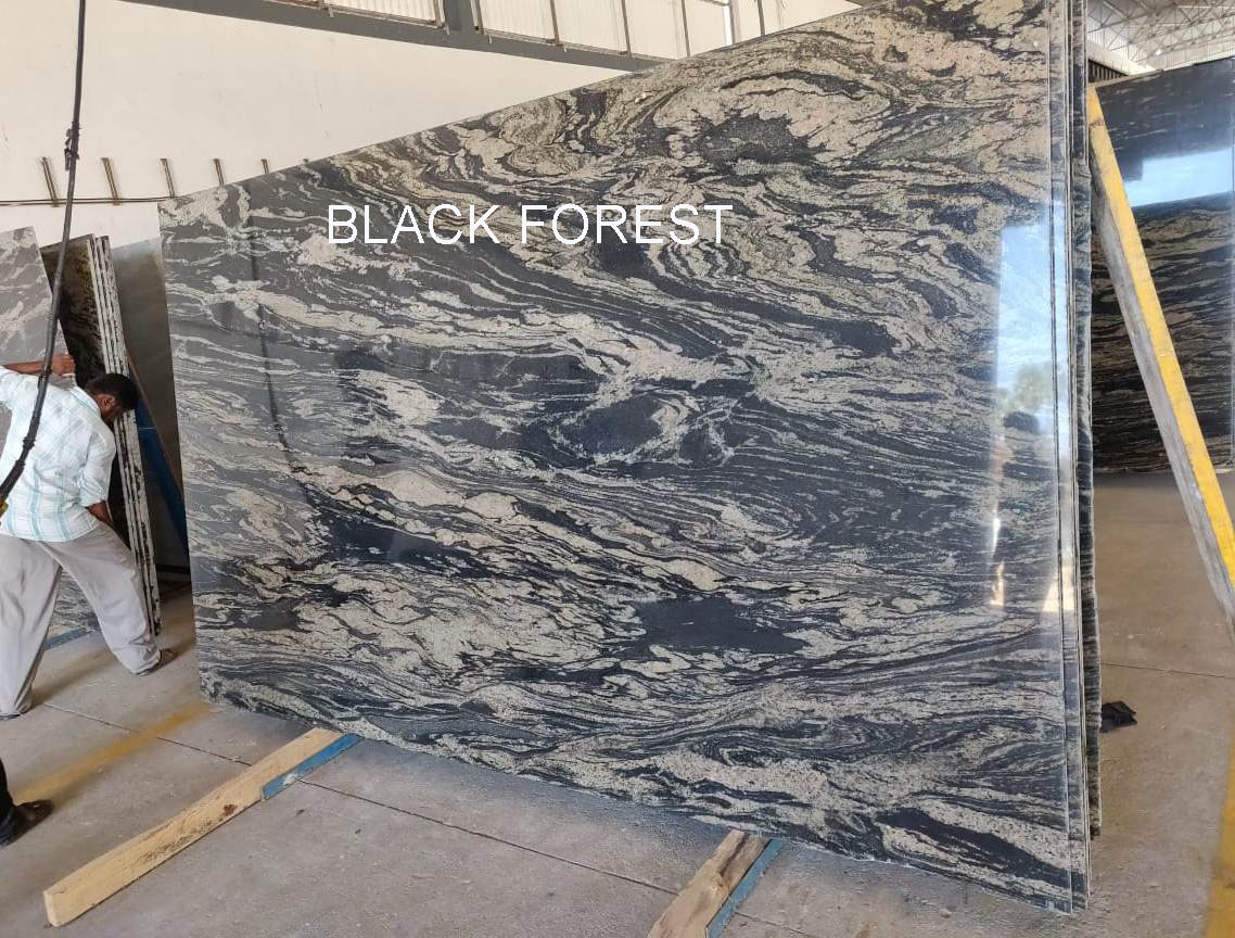 Black Forest Granite Polished Granite Slabs