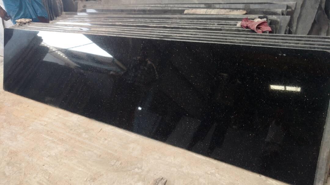 Black Galaxy Granite Stone Slabs