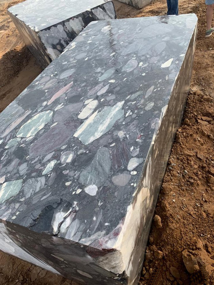 Black Marinace Granite Blocks