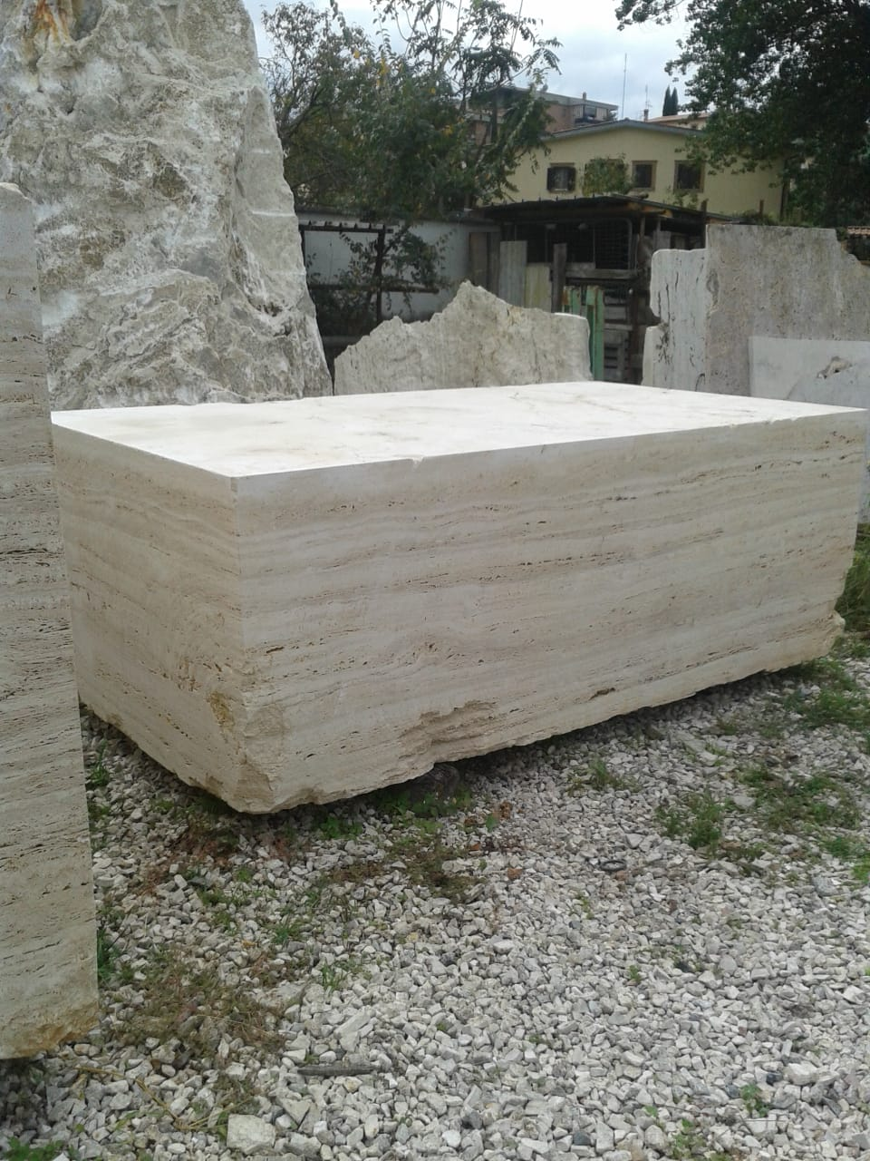 Travertino Classico Stone Blocks