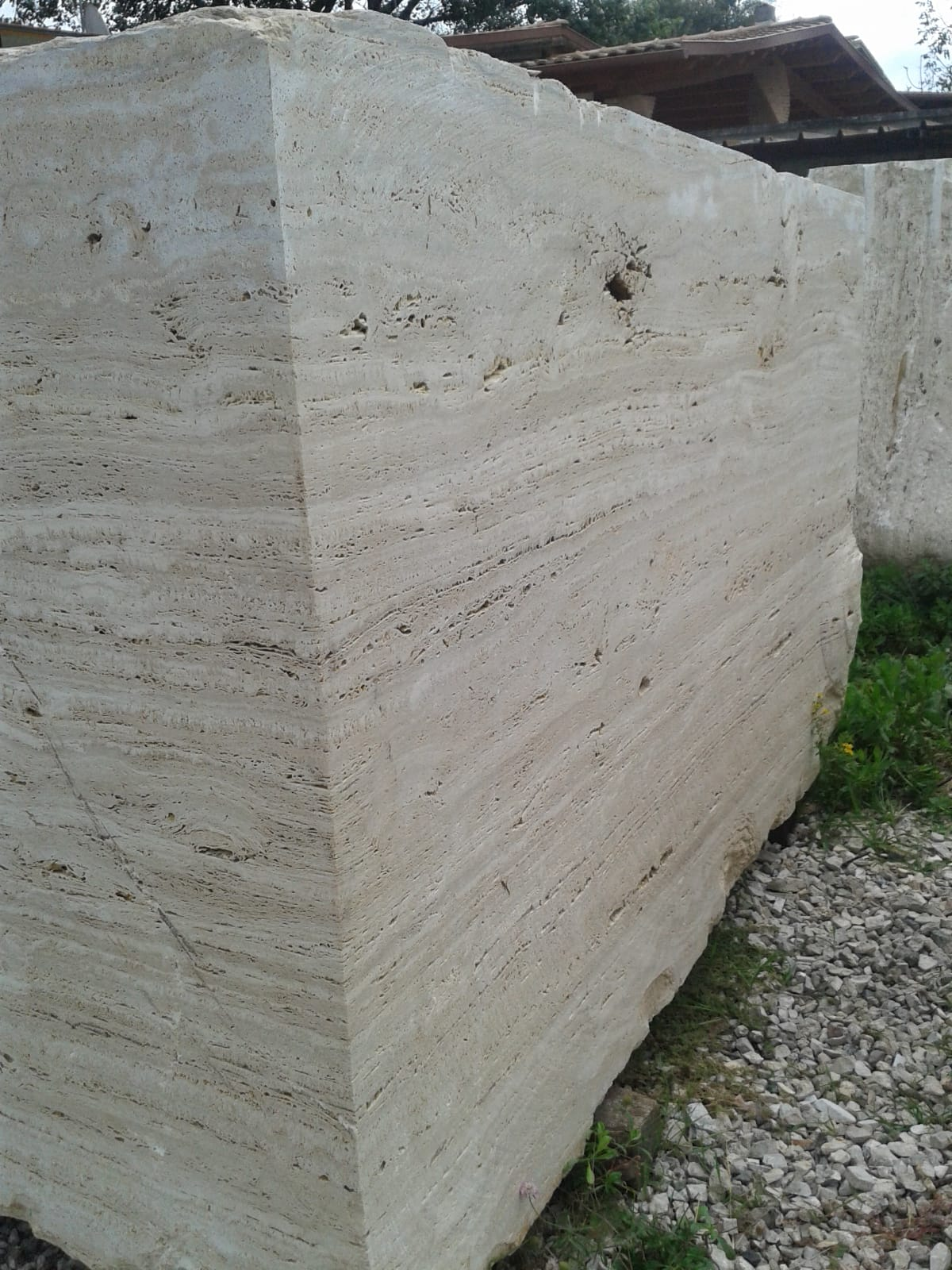 Travertino Classico Beige Travertine Blocks