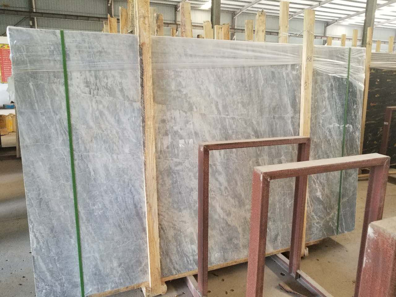 Blue Silk Marble Slabs