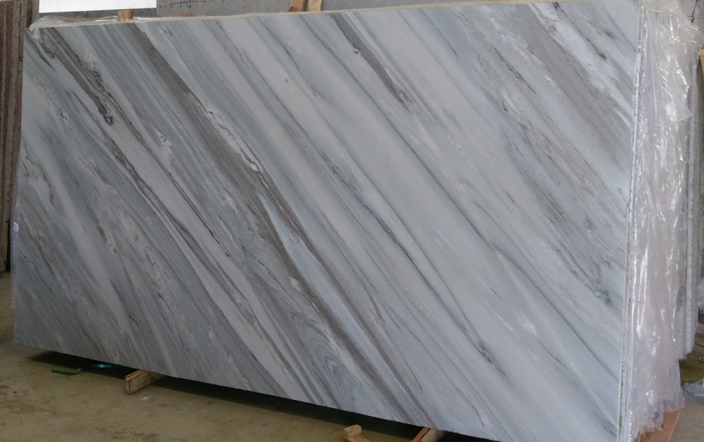 Bruno White Marble Indian White Polished Marble Slabs