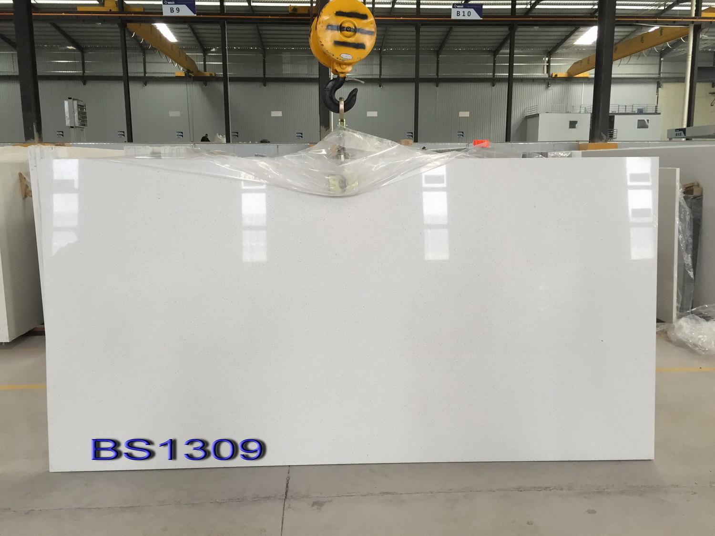White Carrara Quartz Stone for Countertops