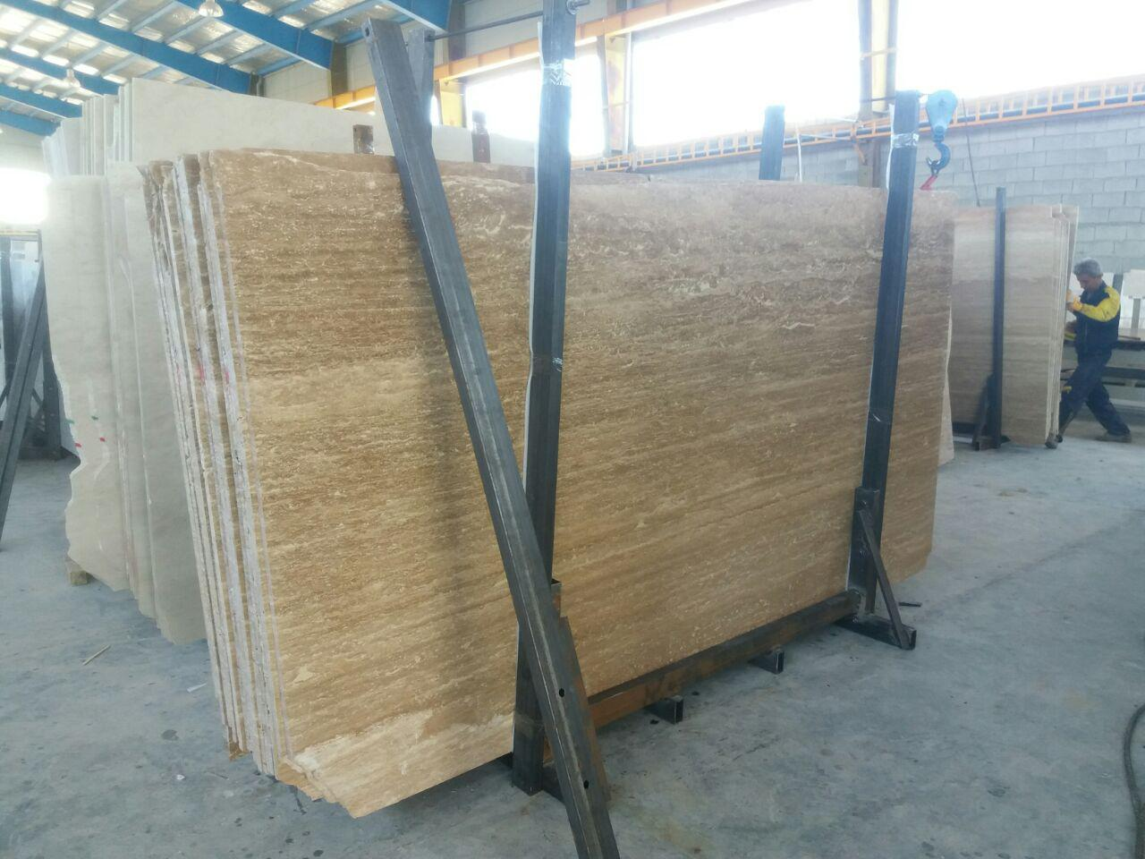 Iran Beige Travertine Slabs