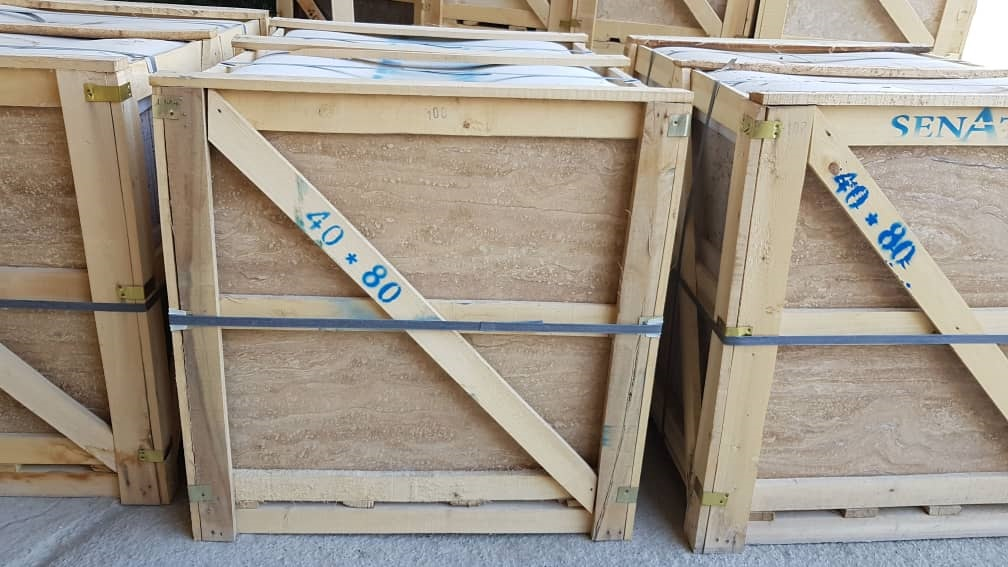 Beige Travertine Packing