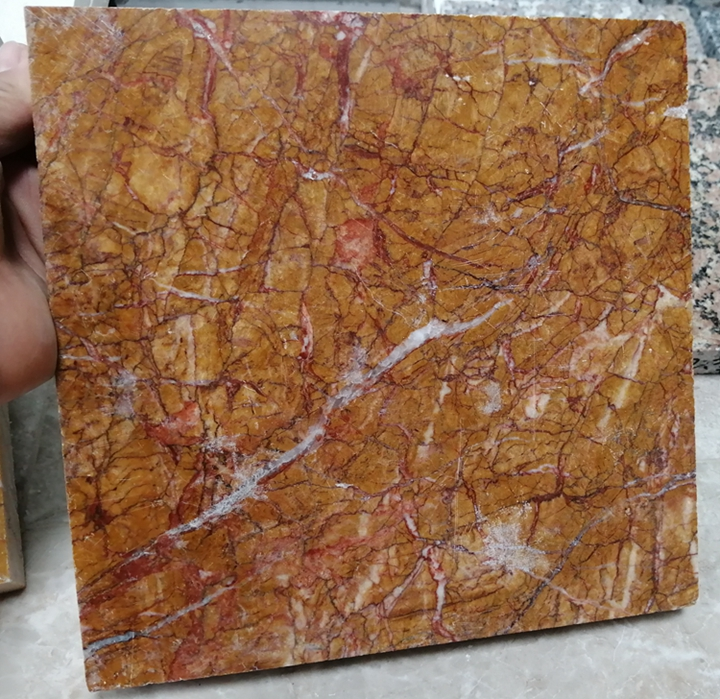 China Gold Marble Slabs for house hotel mall building project