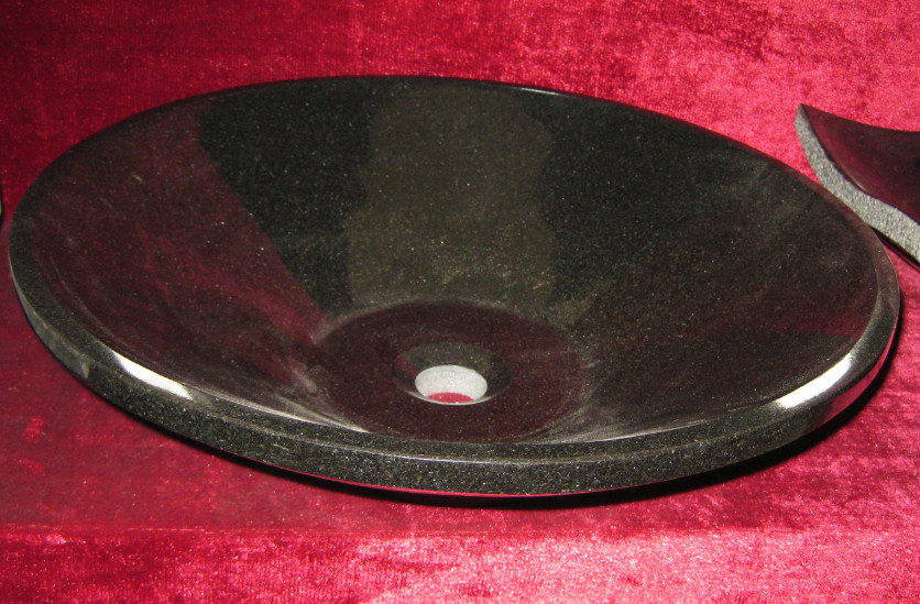 Black Marble Sink and Basin