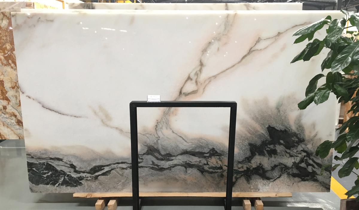 Beautiful White Onyx Stone Polished Slabs
