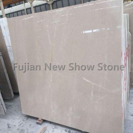 Beige marble slabs