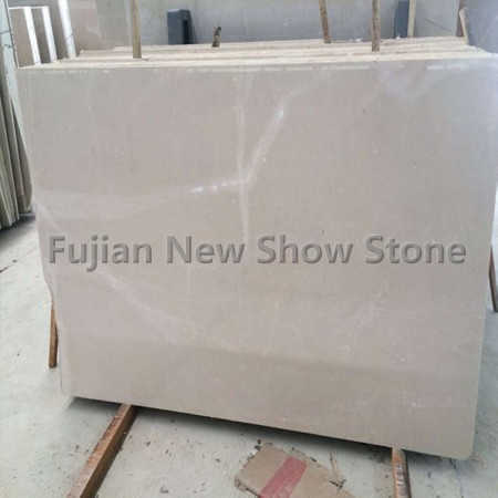 1.8cm Beige marble slabs
