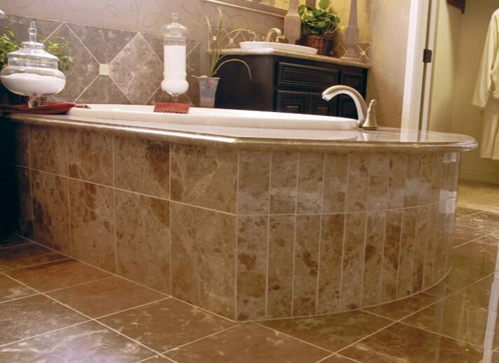 Beige Turkish marble tile