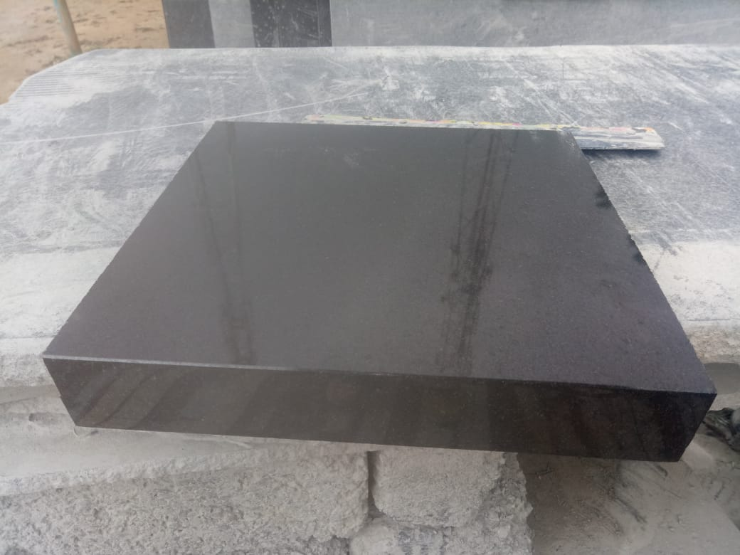 Absolute Black Granite Tombstone Slabs