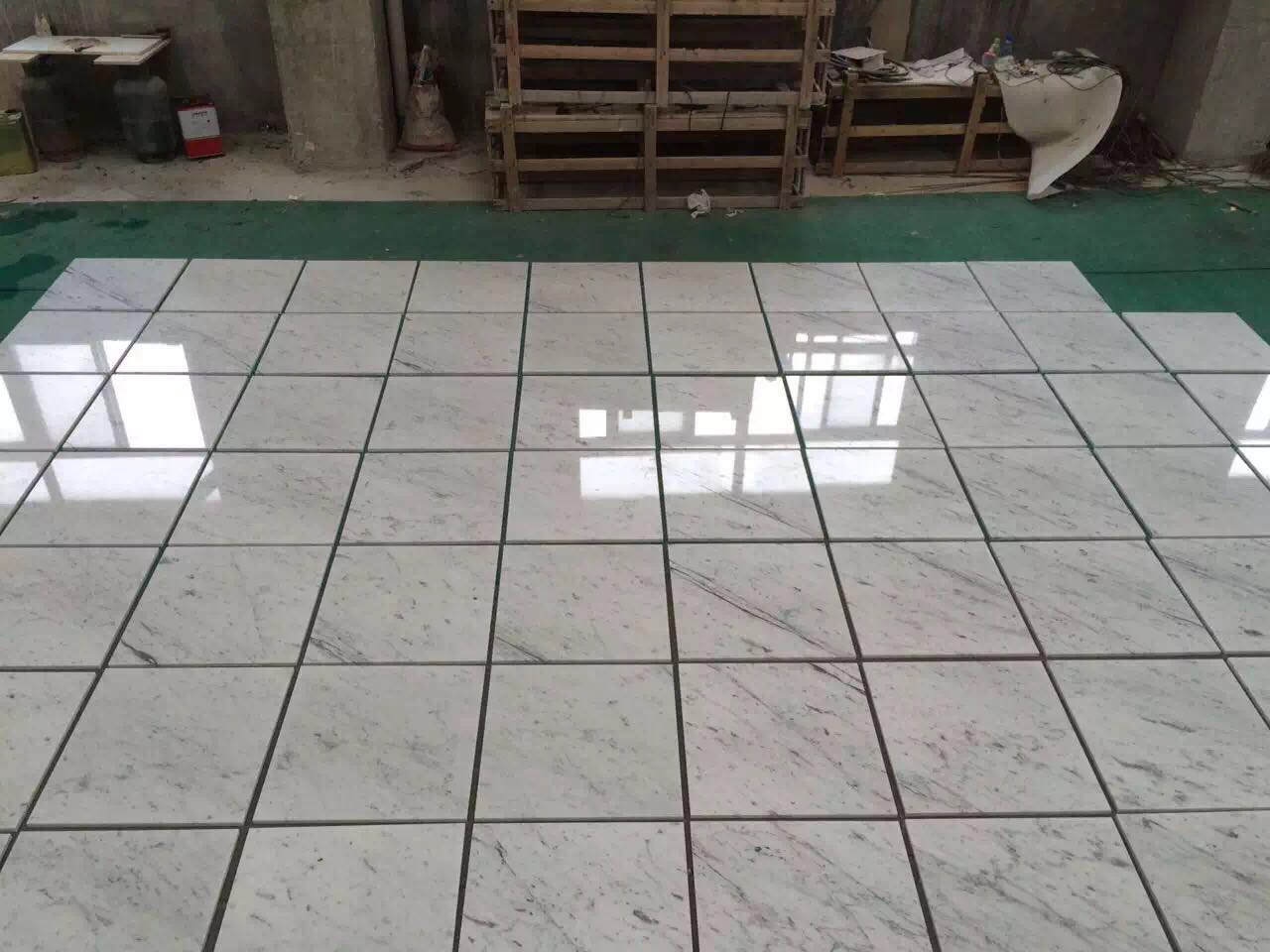 Bianco Carara White Marble Polished Tiles & Slabs