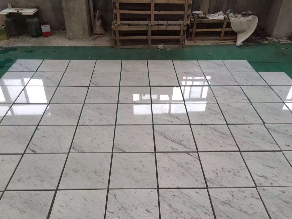 Bianco carrara white carrara marble tiles polished flooring