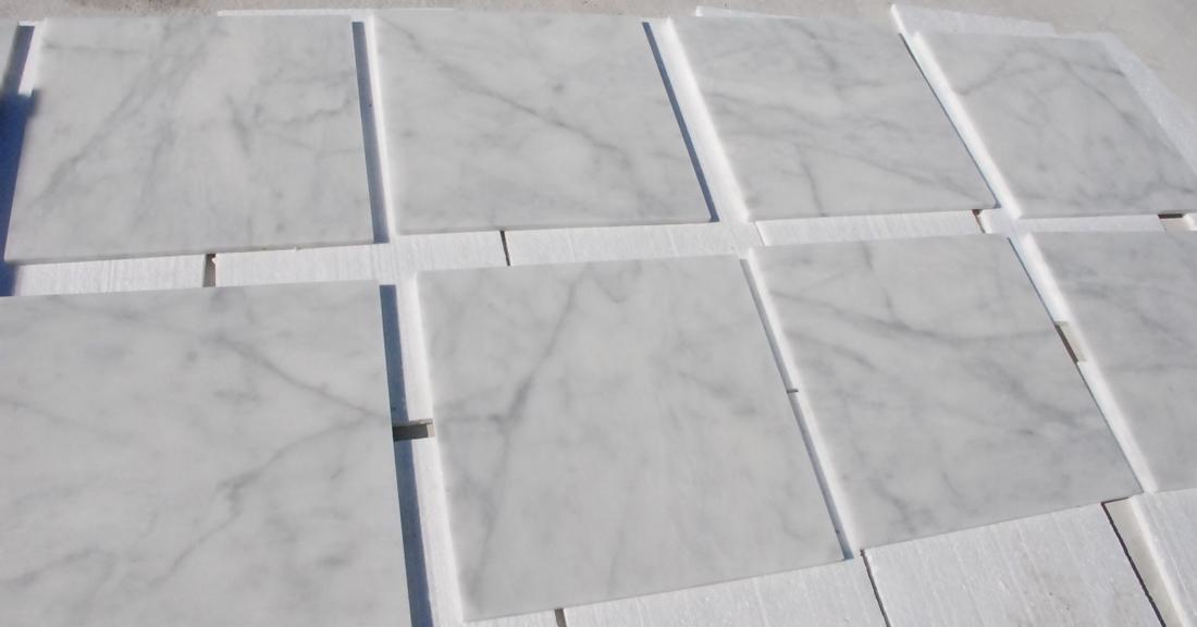 bianco ibiza marble tile