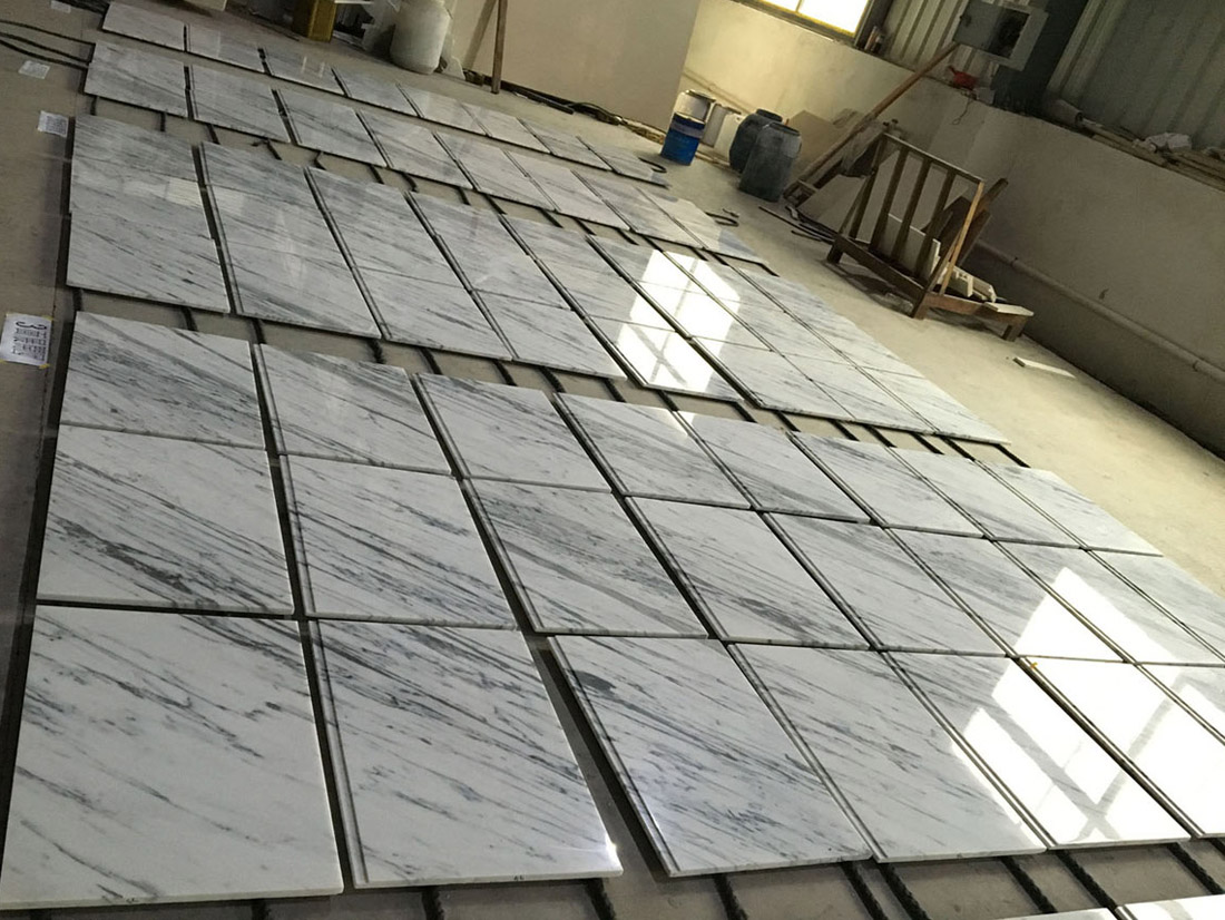 Imported Bianco Carrara Marble Tiles