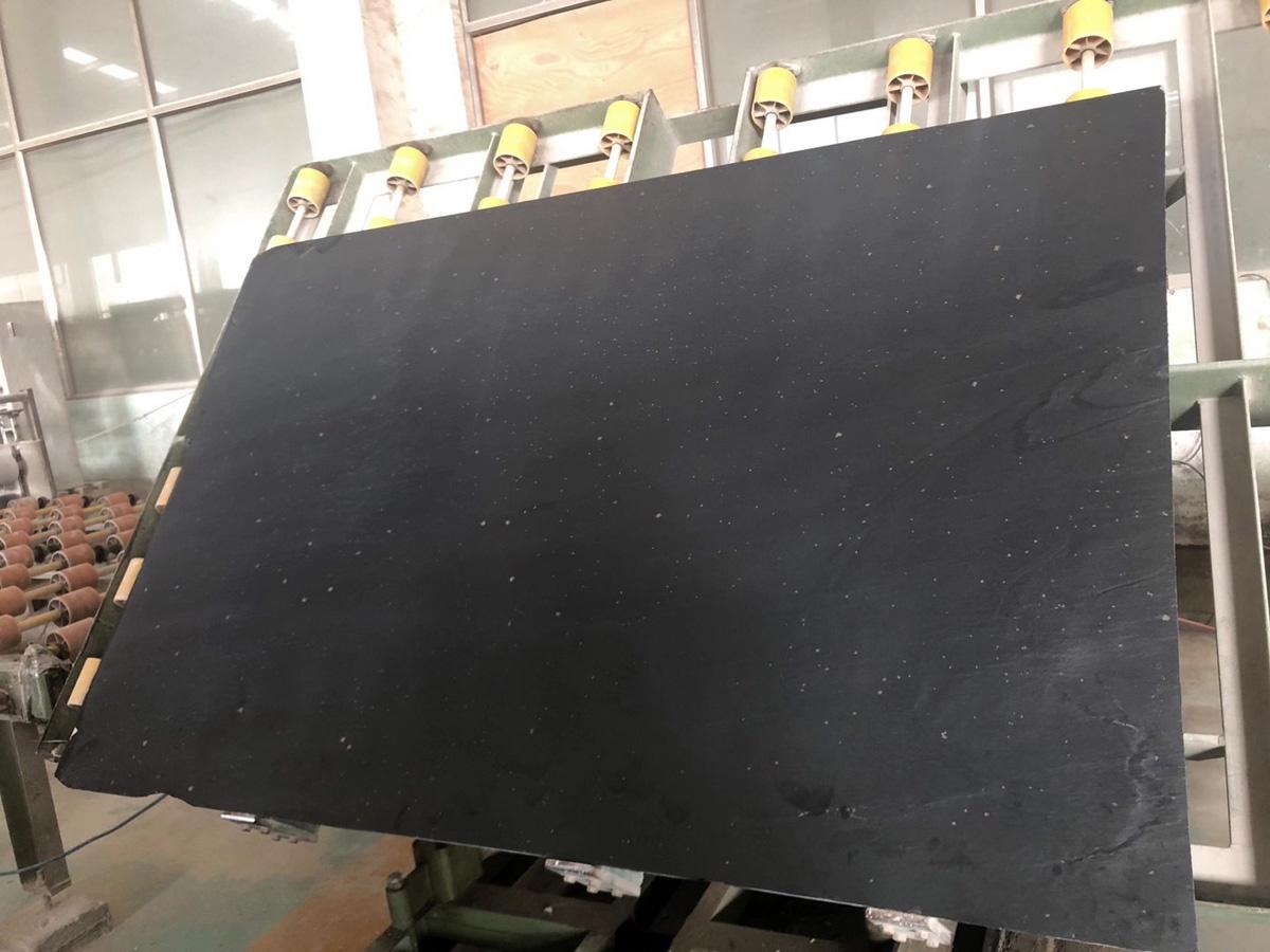 Black Gold Stone Black Slate Slabs