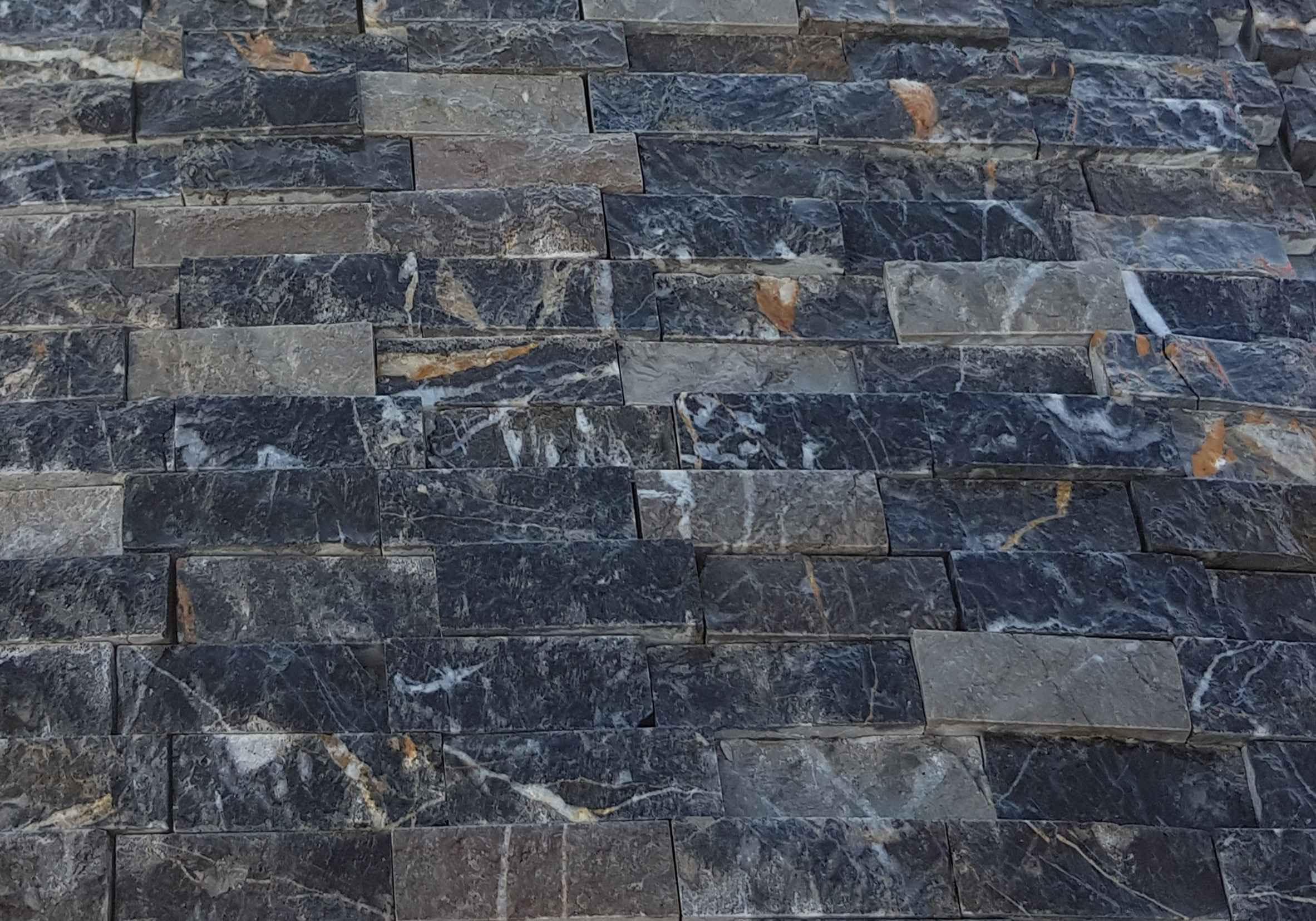 Black Marquina Split Face Panel