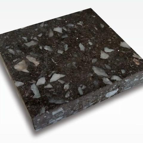 Black Casto - Terrazzo Tile Indonesia for Indoor and Outdoor Flooring 60 x 60 cm