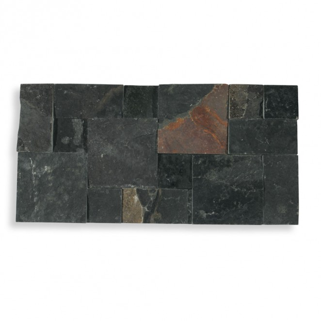 Bali Black Lambordia Slate Cultured Stone Cladding
