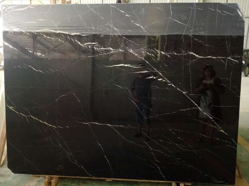 Black Maguina Marble Slabs