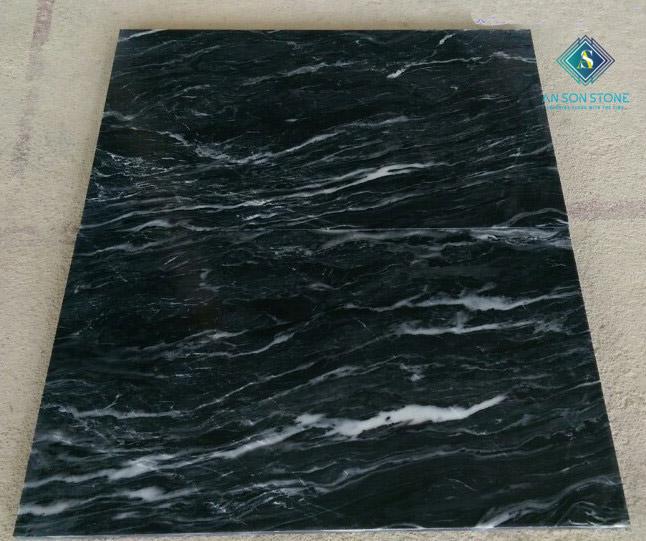 Polished Black Marble