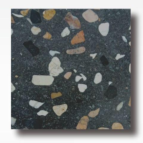 Black Orange - Terrazzo Indonesia for Indoor and Outdoor Flooring Tile