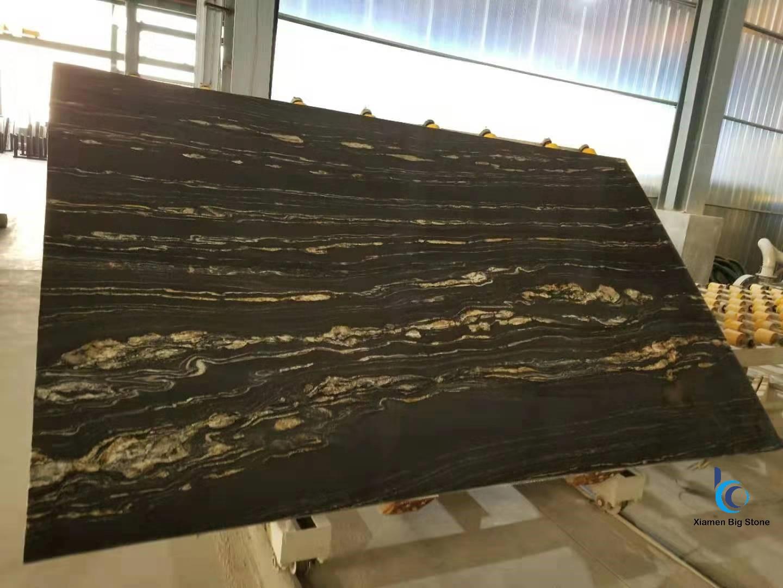 Black Protoro Marble Big Slab