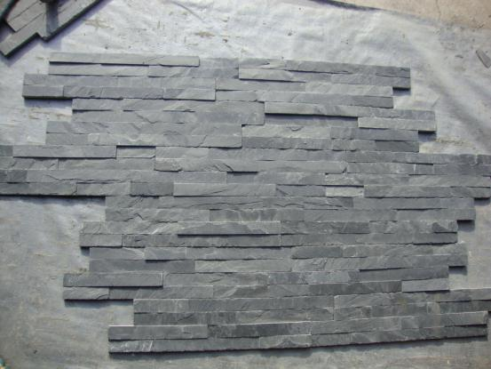 Black SlateThin Culture Stone