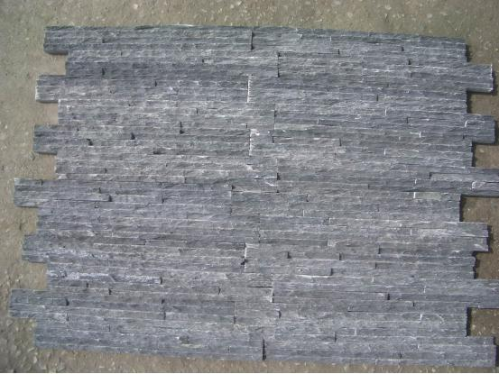 Black Slate Waterdrip Culture Stone
