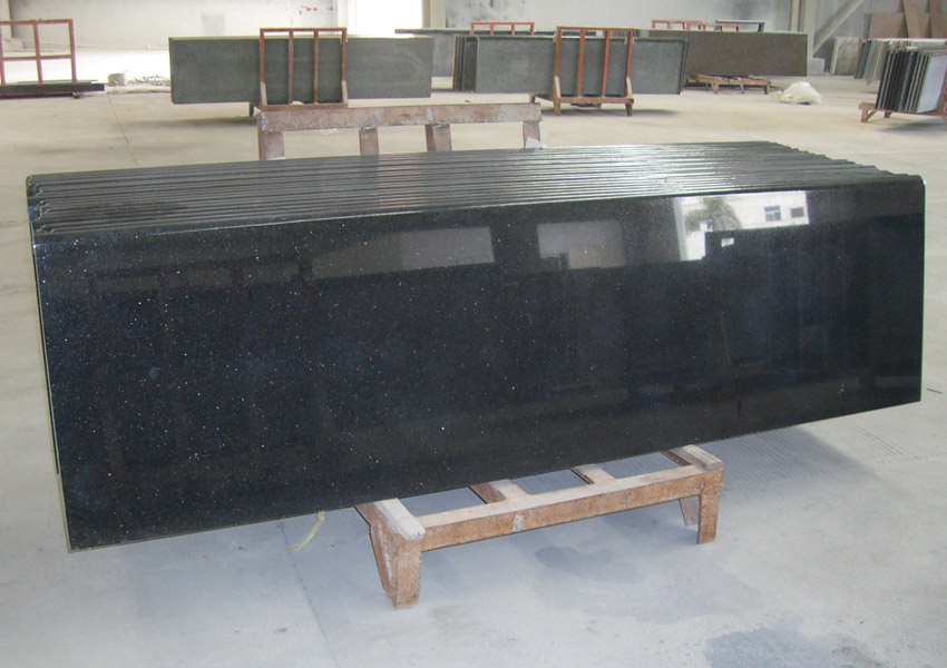 black granite countertopsblack galaxy