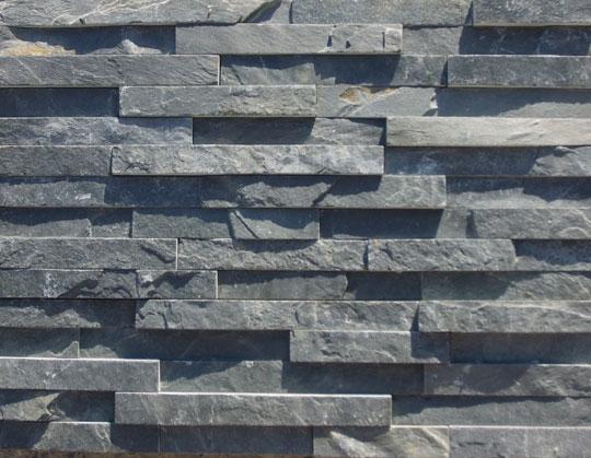 Black slate007 culture stone